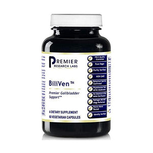 Biliven by Quantum Premier Research Labs (4 bottles - 240 Vcaps) Turmeric Milk Thistle Labs by Premier Research Labs
