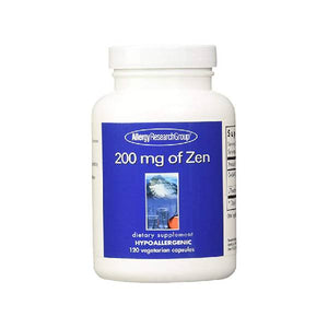 Allergy Research Group - 200 mg of Zen 120 vcaps by Allergy Research Group