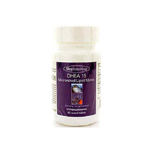 Allergy Research Group - DHEA 15mg Micronized Lipid Matrix 60t by Allergy Research Group