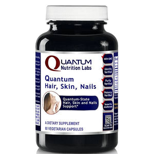 Quantum Hair, Skin, Nails-240 Caps / 4 Bottles by Quantum Labs