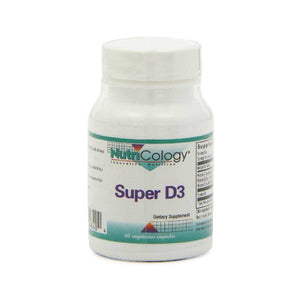 Nutricology/ Allergy Research Group Super D3, 60 Cap by Nutricology