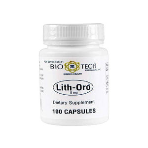 BioTech Pharmacal - Lith-Oro (5 mg) - 100 Count by Biotech Pharmacal
