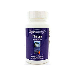 Niacin Vitamin B3 250 Milligrams 90 Veg Capsules by Allergy Research Group