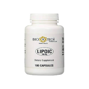 BioTech Pharmacal - Lipoic Acid (300mg) - 100 Count by Bio-Tech Pharmacal