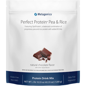 Metagenics Perfect Protein Pea & Rice Chocolate 30 servings