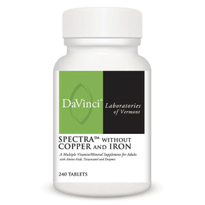 DaVinci Labs  Spectra without Copper & Iron  240 Tablets