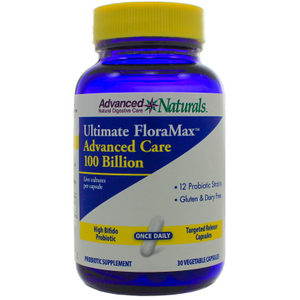 Advanced Naturals Ultimate FloraMax Advanced Care 100 Billion 30 Vegetarian Capsules by Advanced Naturals