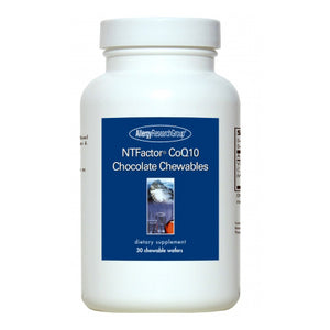NTFactor CoQ10 Chocolate Chewables by Allergy Research Group
