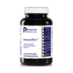 Premier Research Labs ImmunoVen TM, 180 VCaps, Vegan - Olive Leaf Formula for Premier Immune and Cardiovascular Support by Premier Research Labs