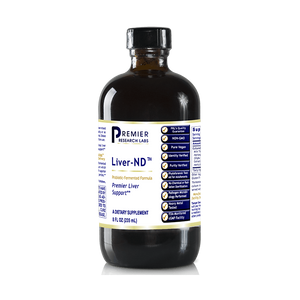 Premier Research Labs Liver ND 24 Oz / 3 Bottles Detox Support by Premier Research Labs