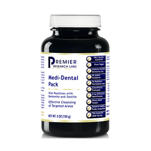 Premier Medi-Dental Pack (20 Oz/4 Bottles) with Bentonite Clay and Zeolite Minerals by Premier Research/Quantum Labs