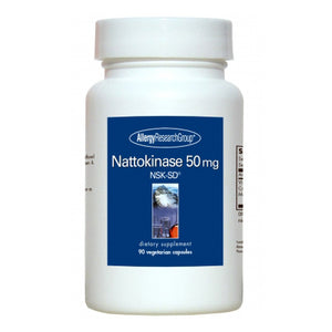 Nattokinase 50 mg 90 vcaps by Allergy Research Group