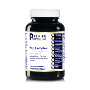 PQQ Complex w/ CoQ10 (180 VCAPS / 4 Bottles) Vegan Antioxidant, Nerve Support from Premier Quantum Research