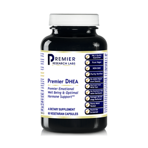 Premier DHEA Anti-aging and Mood Balance Support 180 Vcaps/3 Bottles by Premier...