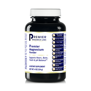 Premier Magnesium, 4oz Powder of Magnesium Lactate Powder, a Highly Absorbable Source of Magnesium by Premier Research Labs