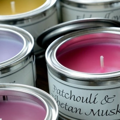 Tinned Candle Range