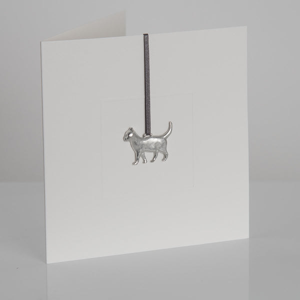 Pewter Animal Cards