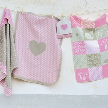 Heart, Star or Patchwork Blanket
