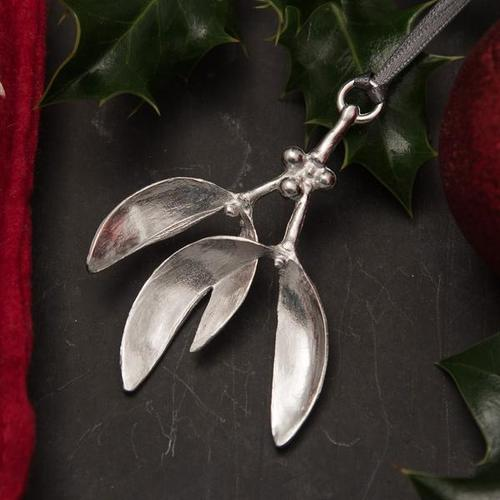 Pewter Christmas Decorations