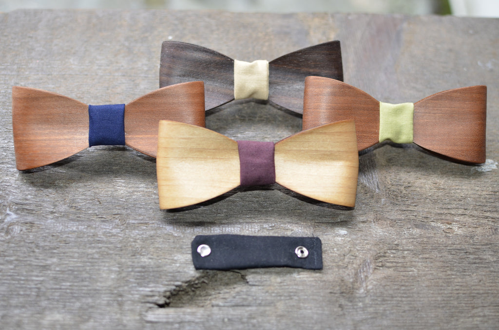 NEW fabric bow tie centres!