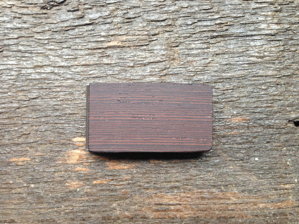 Wenge Wood Money Clip