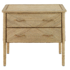 Currey and Co - Kaipo Two Drawer Chest