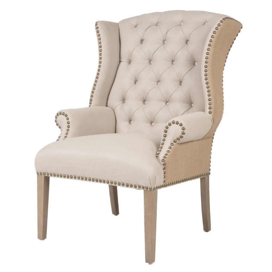 Orient Express - Quinn Tufted Arm Chair