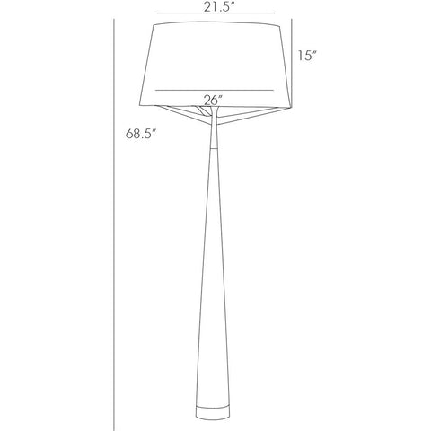 Arteriors - Elden Floor Lamp