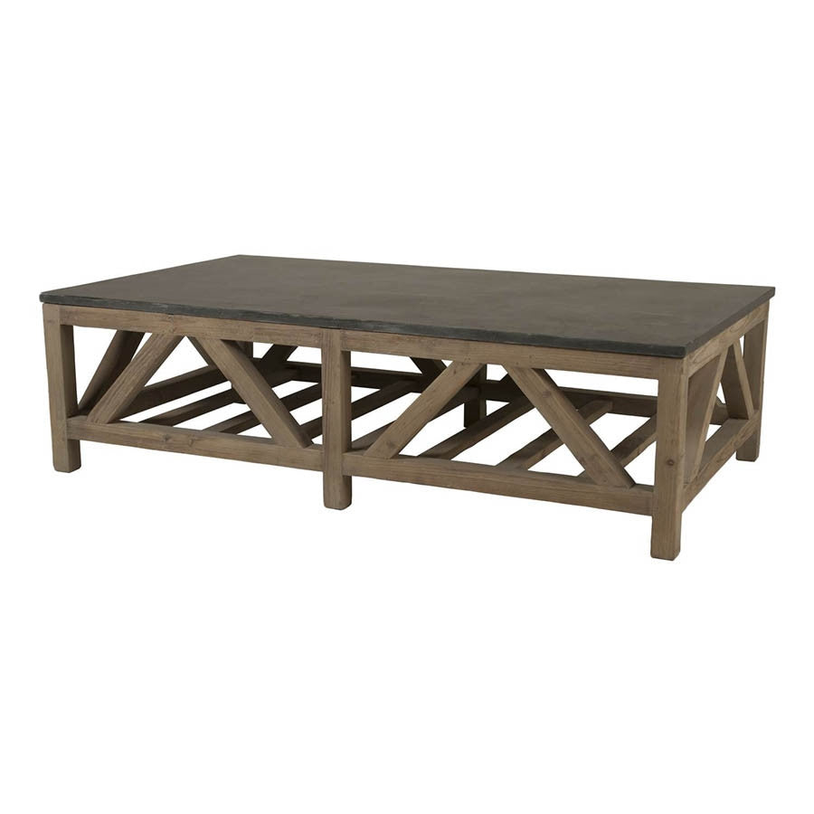 Exceptional Orient Express   Blue Stone Coffee Table