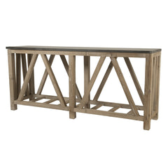 Orient Express - Blue Stone Console Table