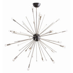 Arteriors - Imogene Large Chandelier, Nickel