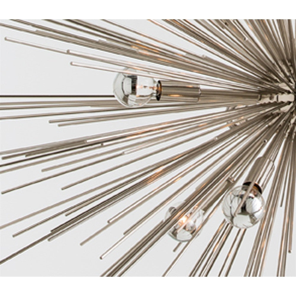 Arteriors - Zanadoo Large Chandelier, Nickel