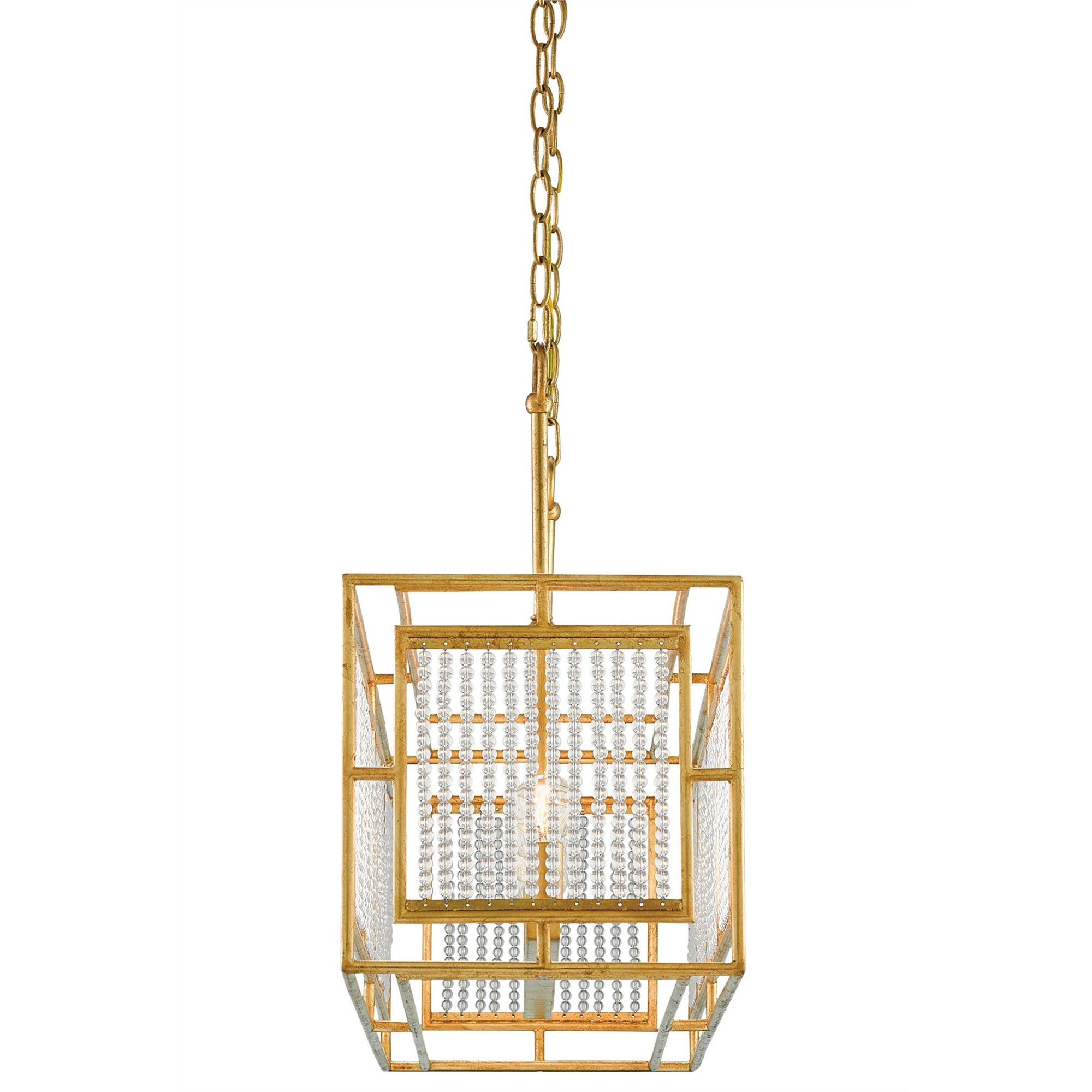 Currey and Co - Adelle Rectangular Chandelier