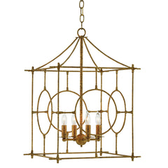 Currey and Co - Lynworth Lantern, Gold