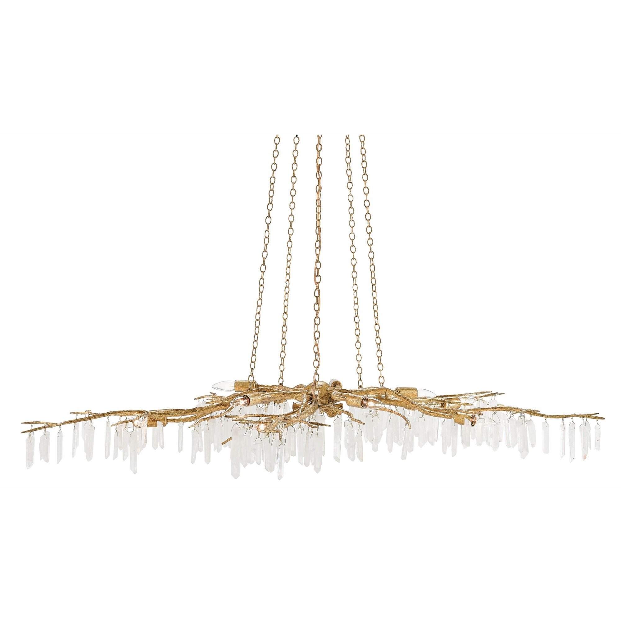 Currey and Co - Forest Light Chandelier