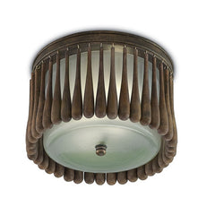 Currey and Co - Gateau Flush Mount