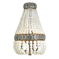 Currey and Co - Lana Wall Sconce, Cream