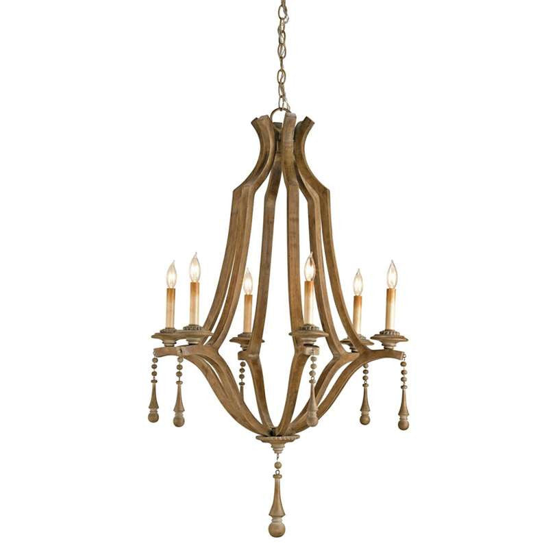 Currey and Co - Simplicity Chandelier