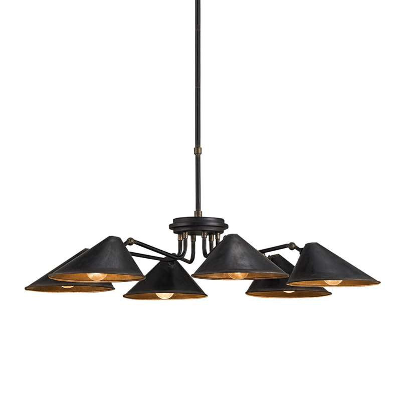 Currey and Co - Fainlight Chandelier
