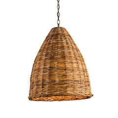 Currey and Co - Basket Pendant