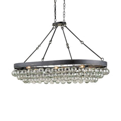 Currey and Co - Balthazar Oval Ceiling Mount
