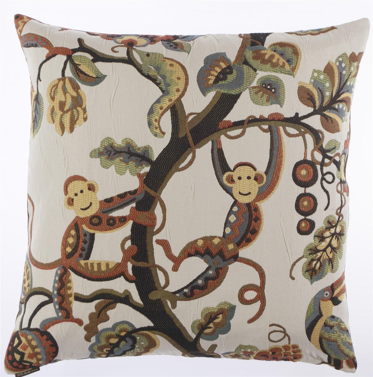 DV Kap Home - Crazy Monkey Toss Pillow