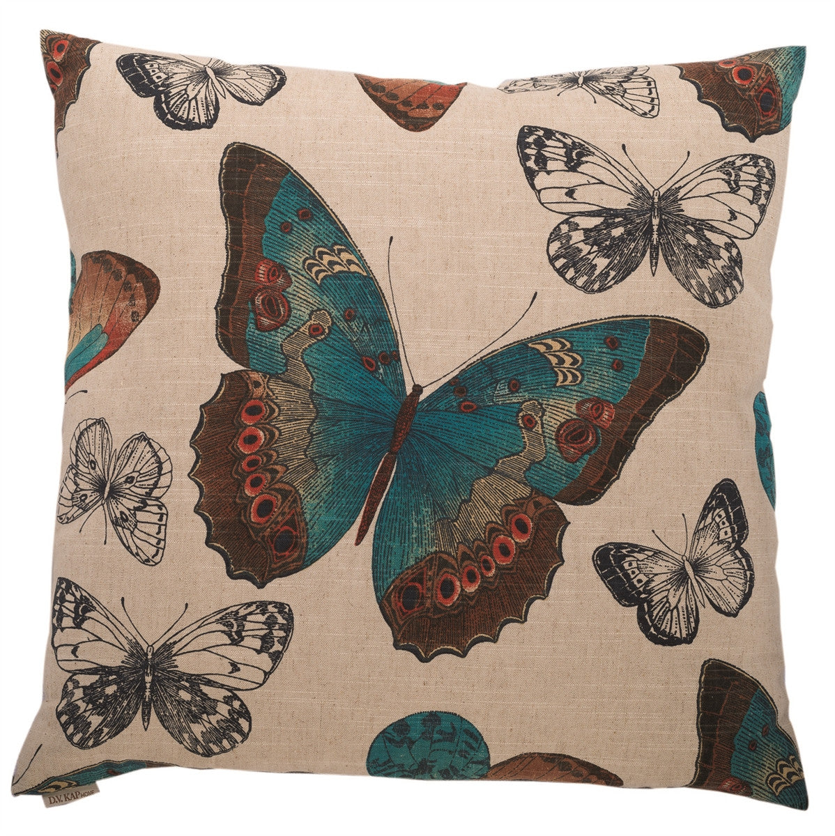 DV Kap Home - Madame Butterfly Toss Pillow