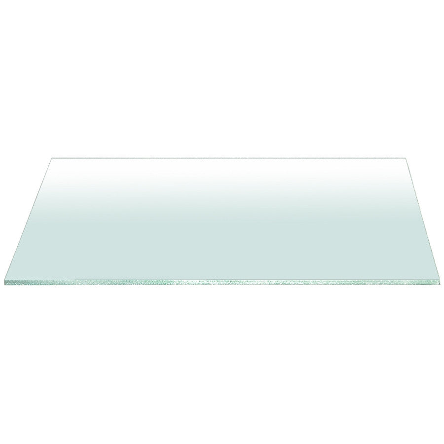 "Star International - Clear 75"" x 42"" Rectangle Dining Table Top"