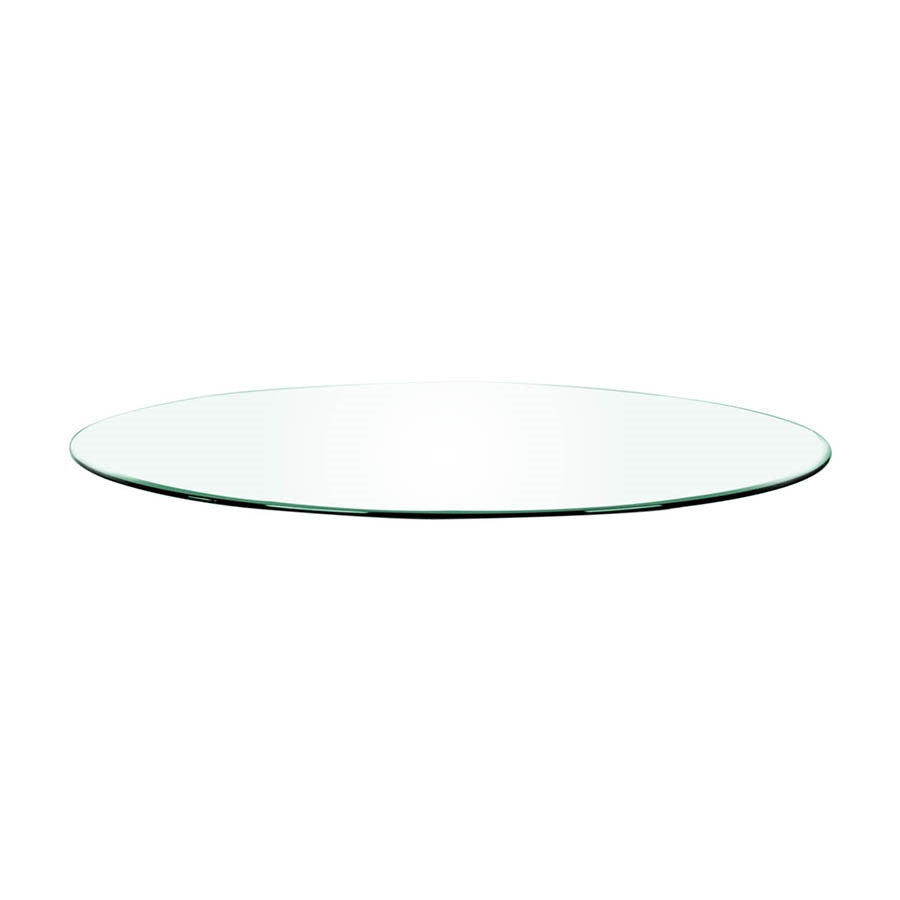 "Star International - Clear 60"" Round Dining Table Top"