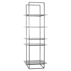 Noir - Sky Shelf, Metal and Glass