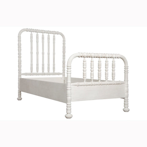 Noir - Bachelor Bed Twin, White Wash