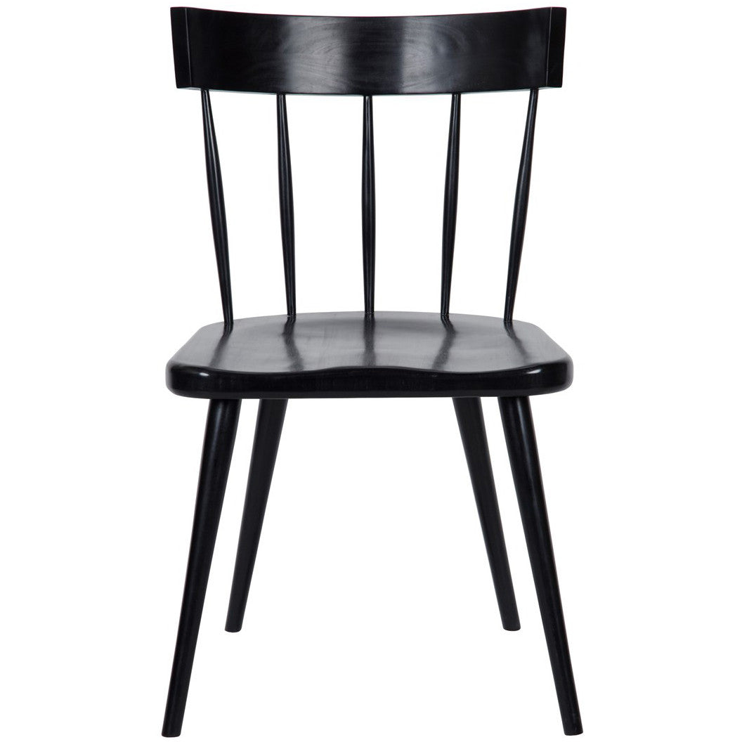 Noir - Esme Chair, Hand Rubbed Black