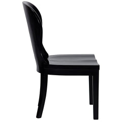 Noir - Cort Chair, Hand Rubbed Black