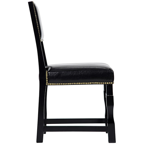 Noir - Abandon Side Chair, Distressed Black